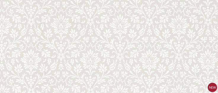 Annecy Dove Grey Floral Wallpaper at Laura Ashley