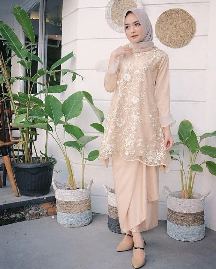 Brokat Hijab Model Kebaya 2019 Hijab