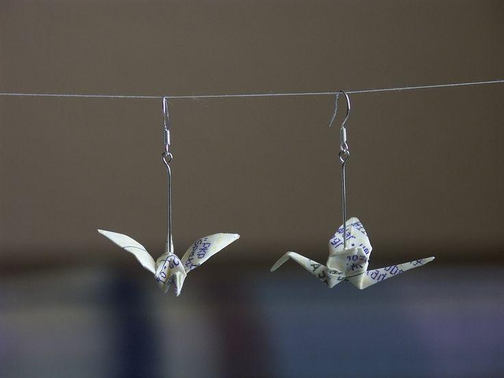 żurawie III - krzepinarium - Kolczyki długie