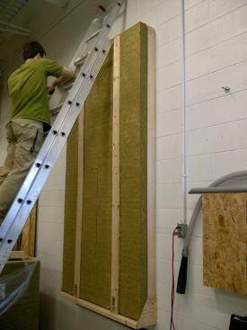 """You don't need squash blocks -  Researchers at a Building Science Corporation test facility have shown that vertical furring strips can be screwed through Roxul mineral wool insulation without the use of squash blocks."""