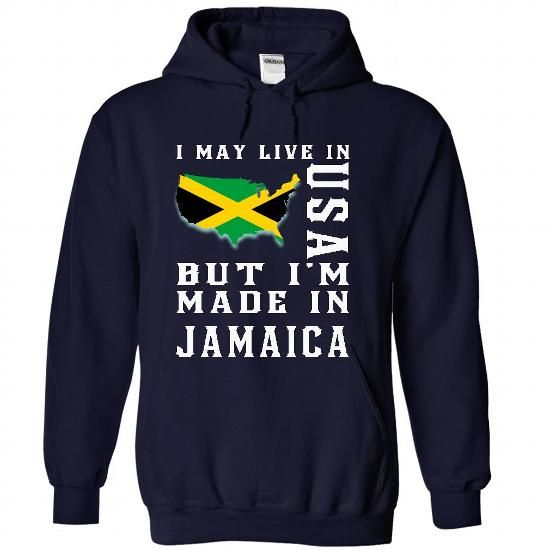 Love Jamaica - #cute gift #mason jar gift. MORE INFO => https://www.sunfrog.com/LifeStyle/Love-Jamaica-6698-NavyBlue-Hoodie.html?68278