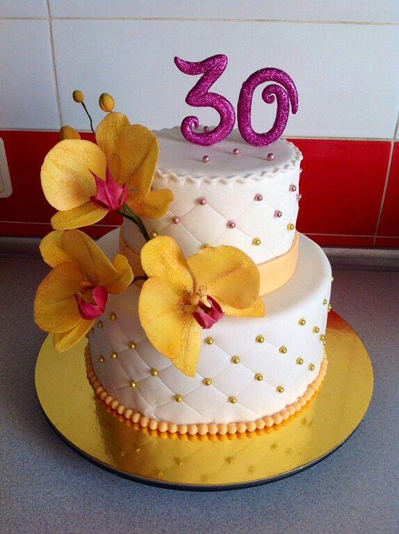 Торт на тридцатилетие