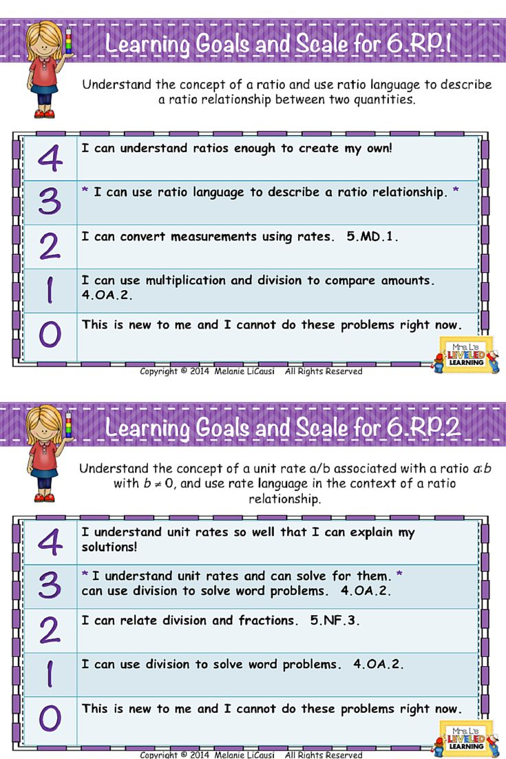 Aligning Middle School Common Core to Elementary standards is not easy! These examples of Marzano Scales show you how! Get them FREE!