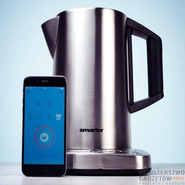 Masz ochotę na herbatę, ale nie chce Ci się wstawać? Czajnik iKettle ugotuje wodę przy użyciu wifi!