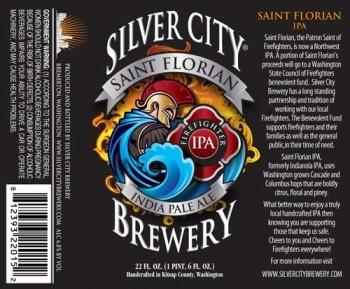 Best new beer label I've seen in a while (and the beer benefits firefighters - awesome)