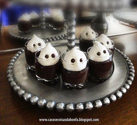 Lil Ghost Dessert Shots!