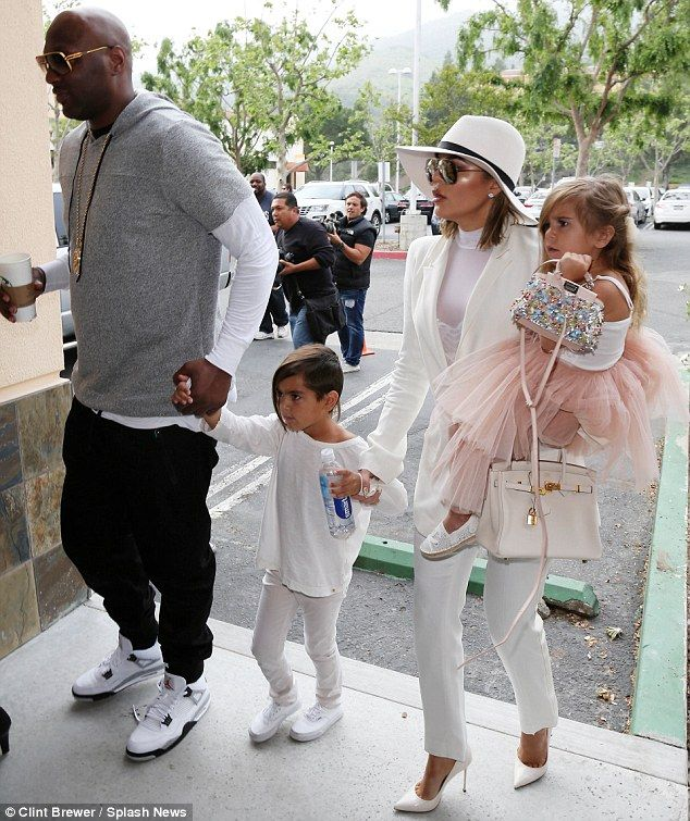 Khloe is joined by Lamar Odom for Kardashians' Easter