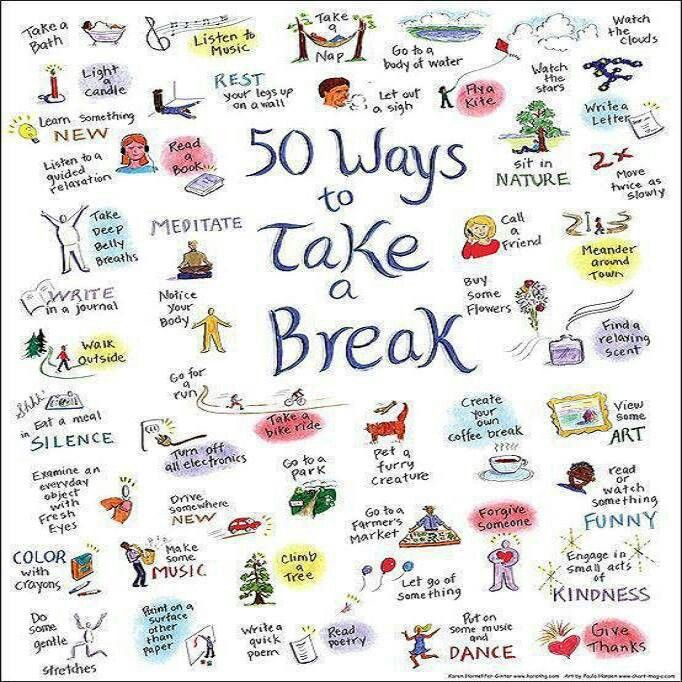 how to take a break from studying