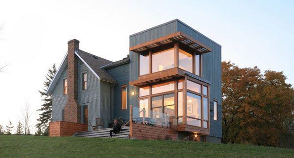 30 Modern Corner Windows For Framed And Frameless Panoramic Views :: Interior Design Photos New Ideas Exhibition