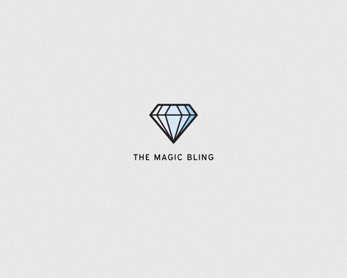 Logotype - The Magic Bling  www.marcusfriberg.com
