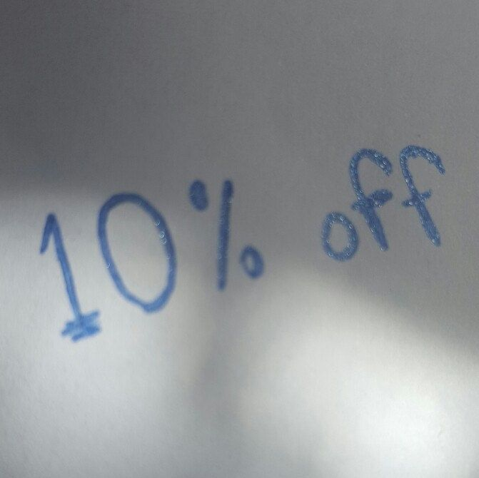 10% discount on all items until 31st May.... just enter the code DISC10