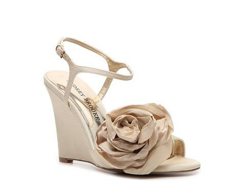 audrey brooke skylar wedge sandal high heel sandal shop womens shoes dsw bridesmaid