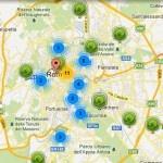 Mappa dei punti di ricarica per ebike, scooter e auto elettriche