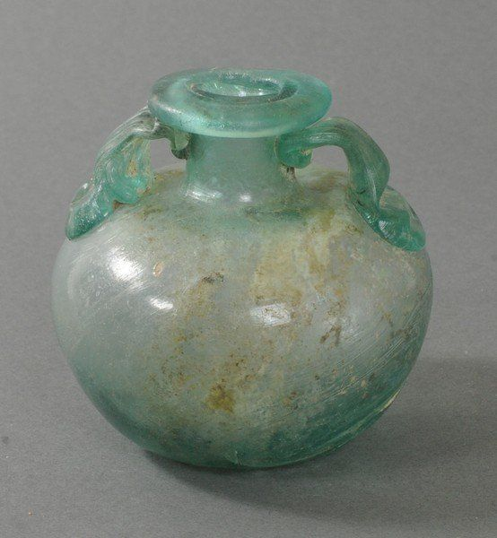 ANCIENT ROMAN GLASS ARYBALLOS : Lot 52