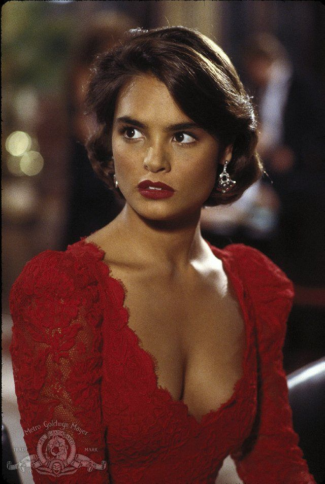 Lupe Lamora From: Licence To Kill. The Damsel In Distress.