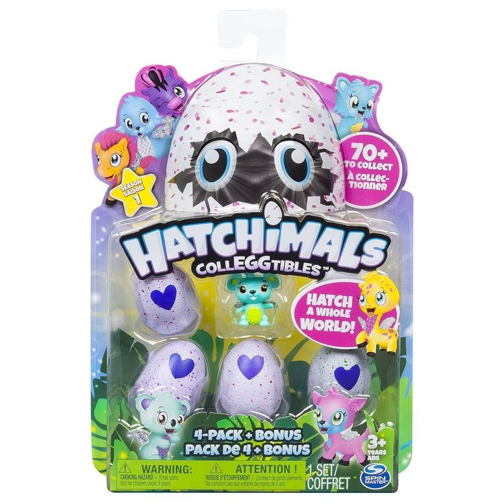 Hatchimals Colleggtibles Pack Of 4 Season One Collection W Nest  Bonus Character #HatchimalsColleggtiblesPackOf4