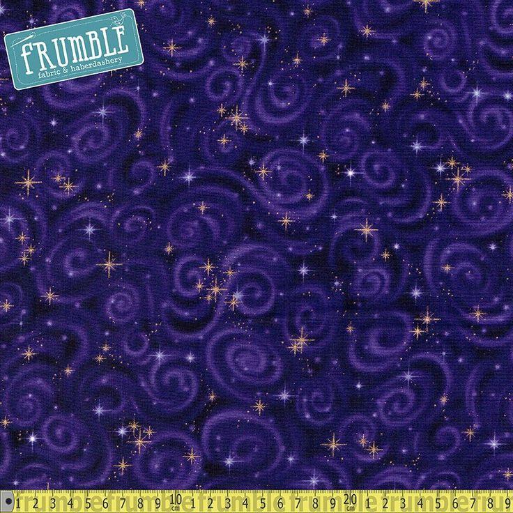 Stargazers Swirl Metallic Violet