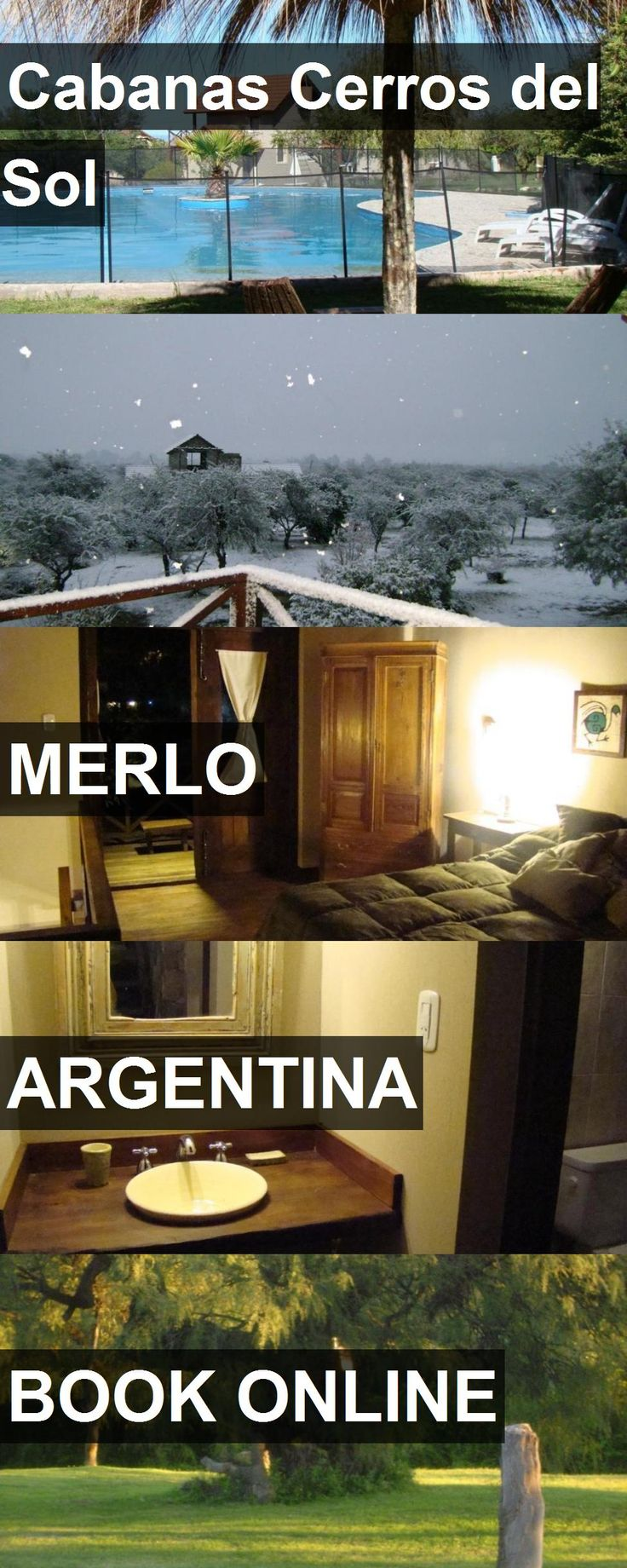 Hotel Cabanas Cerros del Sol in Merlo, Argentina. For more information, photos, reviews and best prices please follow the link. #Argentina #Merlo #travel #vacation #hotel