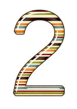Zahl - Nummer - Number / 2 - Zwei - Two
