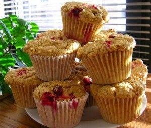 Muffins santé au yogourt et petits fruits