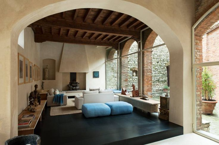 The late architect Bruno Sacchi s medieval tower in