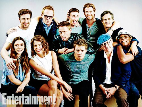 Entertainment Weekly's Avengers: Age of Ultron Cast ...