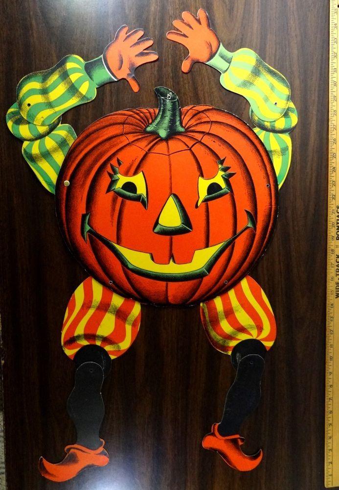 vintage beistle halloween decorations jpg 1152x768