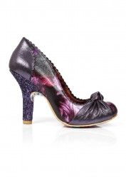 Irregular Choice Smartie Pants Pump Purple