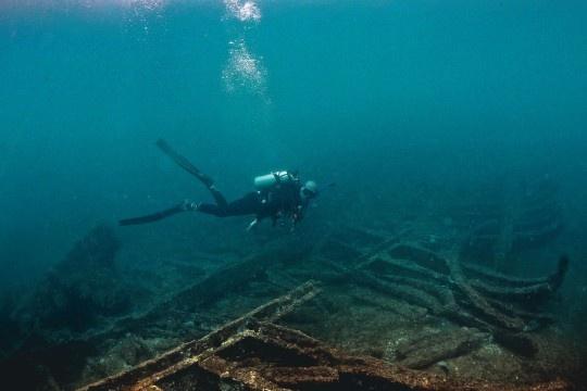 Sítios arqueológicos: prato cheio para os mergulhadores