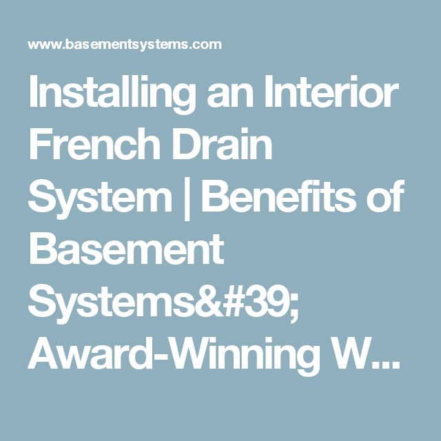 1000+ Ideas About French Drain System On Pinterest | Yard Drainage