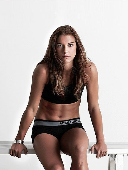 Female Torso Hot | London Olympics 2012: Female Athletes Alex Morgan, Maria Sharapova and ...