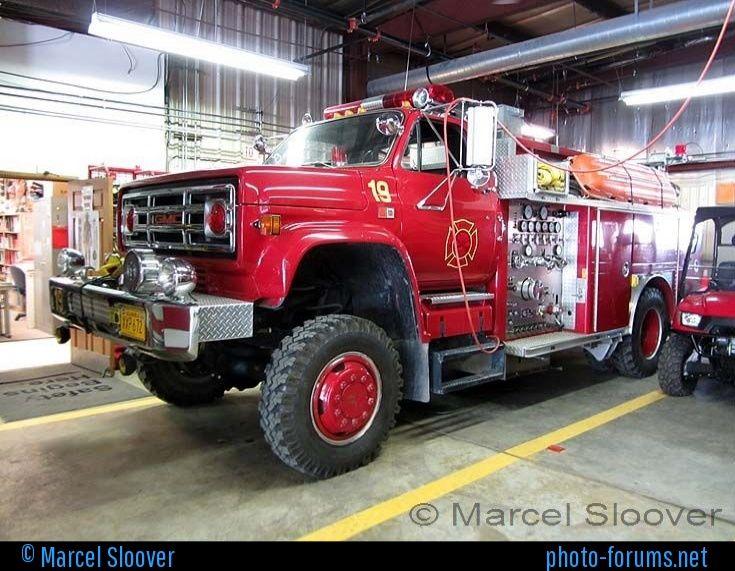 gmc fire trucks