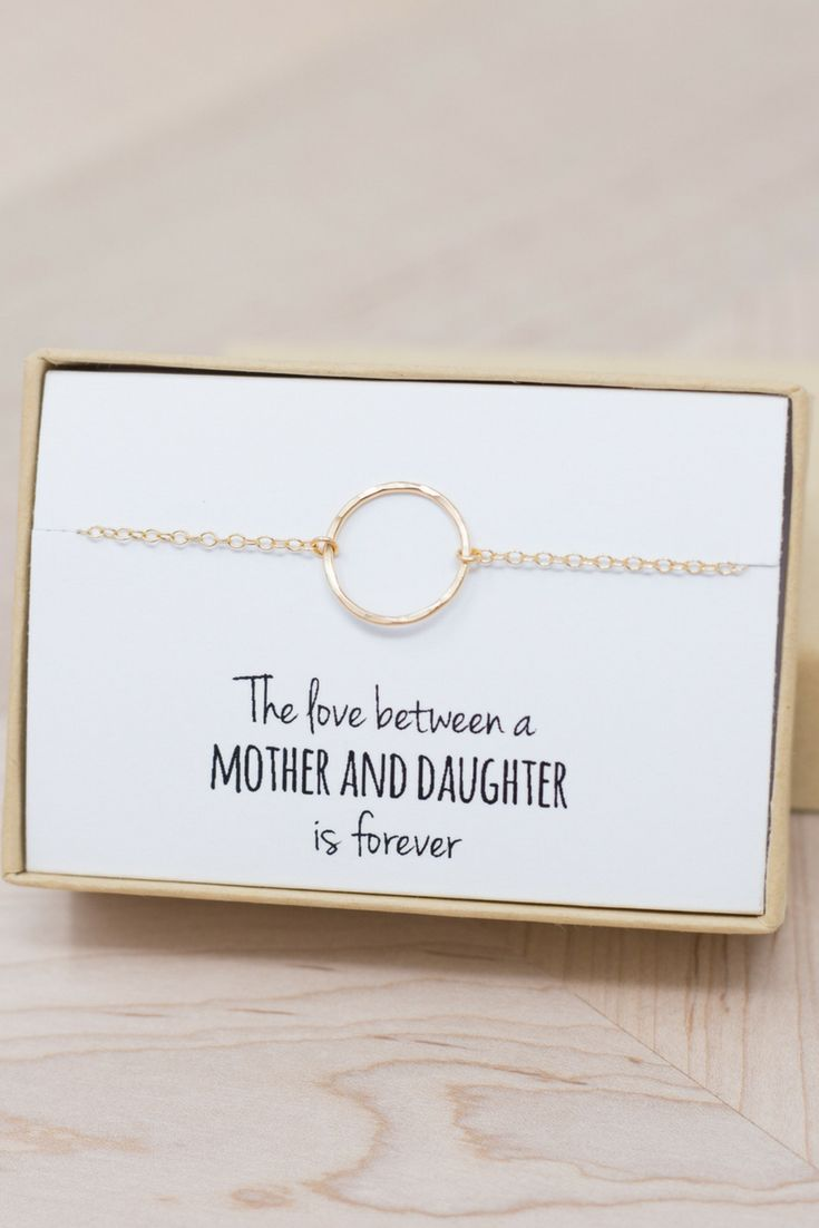 Gold Eternity Bracelet - To Mom - Mother Daughter Jewelry - Mother's Day - Eternity Bracelet - Gifts for Grandma - Gifts for Mom - Eternity
