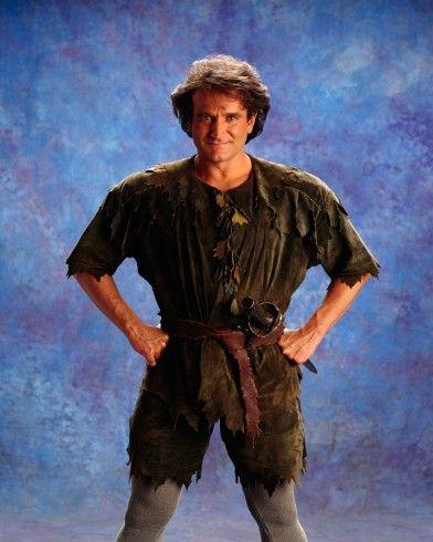 Robin Williams as Peter Pan   Peter pan robin williams ...