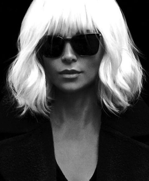 "frosyaa: ""Charlize Theron in Atomic Blonde (2017) """