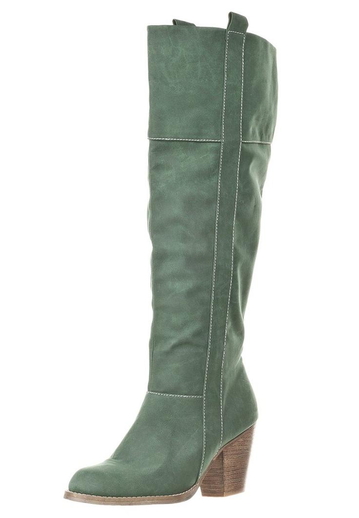Even Høje støvler/ Støvler - grøn