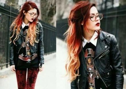 Fashion style edgy soft grunge punk 52 ideas #fashion #WomensFashionEdgy