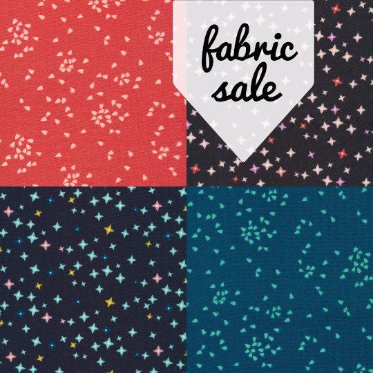 Vignette Double Gauze Fat Quarter Bundle - Aneela Hoey for Cloud9 - organic cotton, organic fabric bundle, modern blender