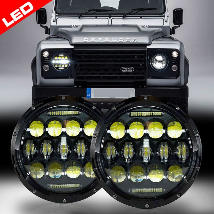 LED headlamp for the Landrover defender!