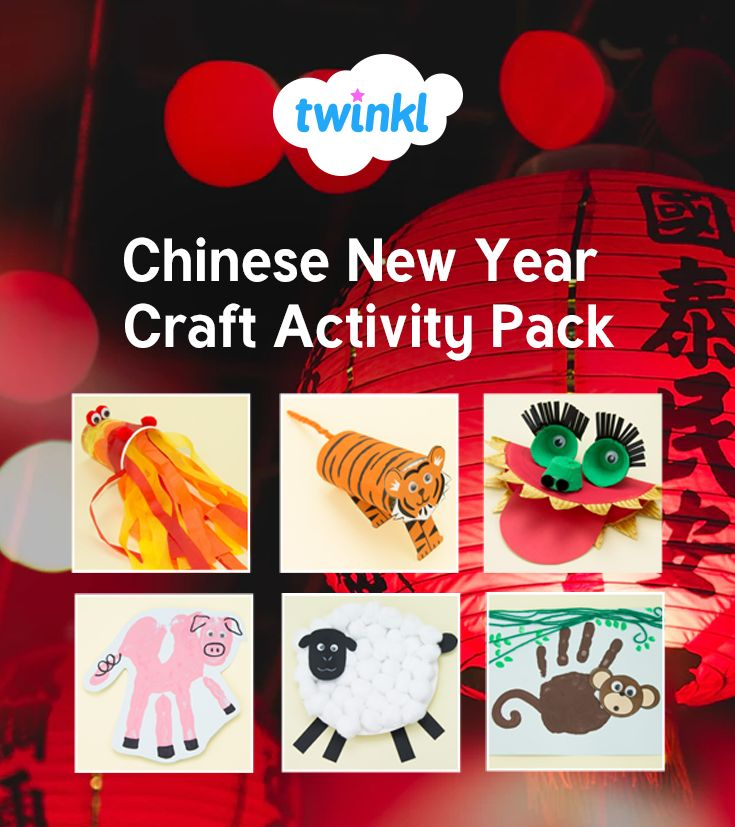 A great pack containing over 20 Chinese New Year Themed crafts! Each individual craft has a list of equipment, as well as and step by step instructions with photographs.