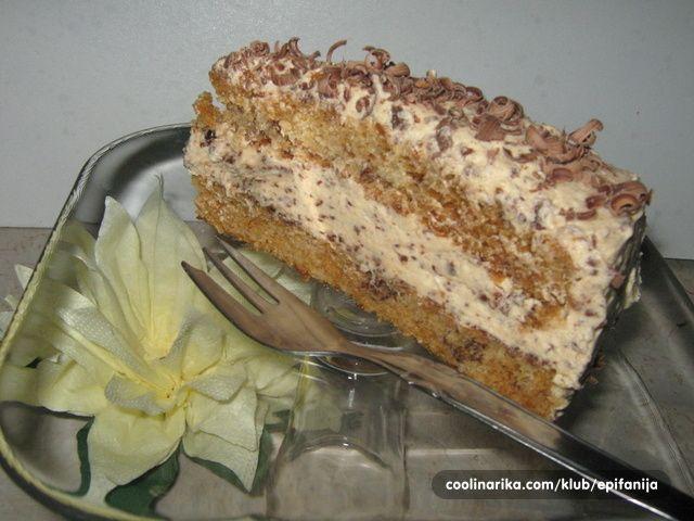 POSNA POMRANDZA TORTA   Edna ideja za posen desert :)))