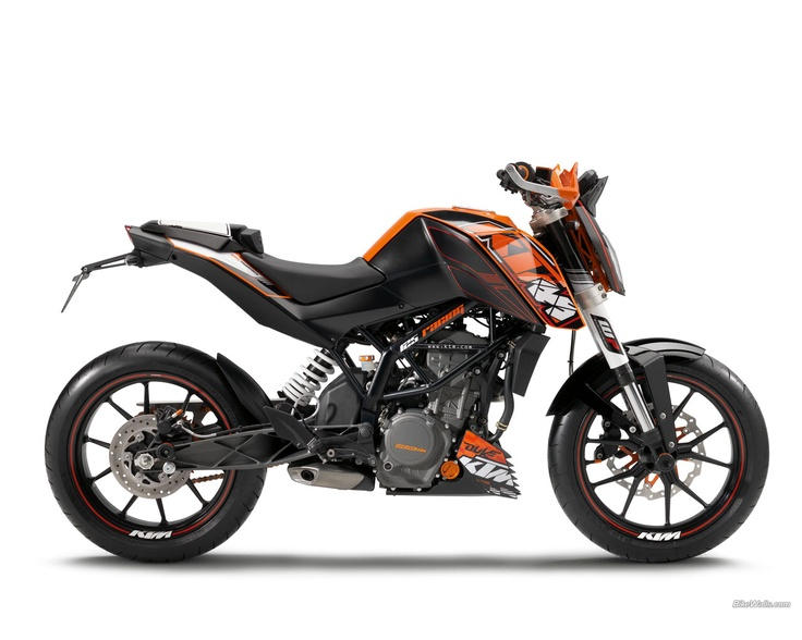 KTM Duke 125 (i want it !!!)