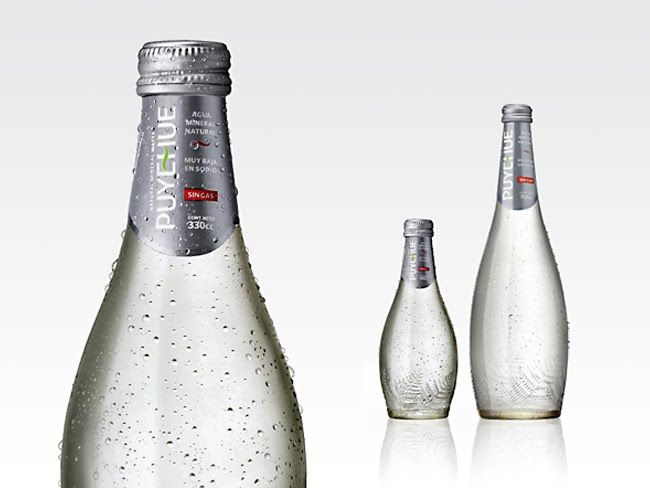 Packaging of the World: Creative Package Design Archive and Gallery: Puyehue Mineral Water