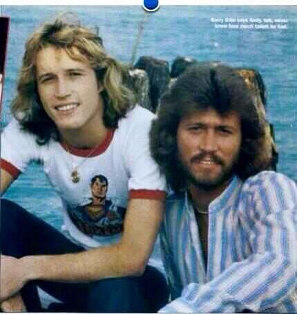 Andy and Barry Gibb