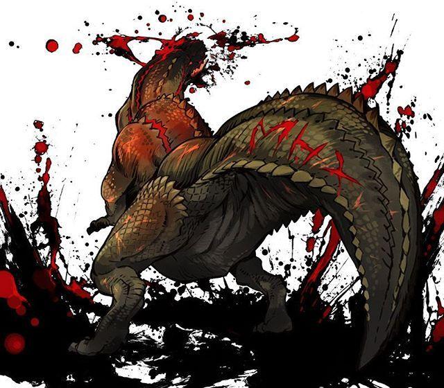 Monster Hunter [Fan Art] - (#mh #mh4 #mh4u #mh4g #mhx #mhg #monsterhunter…