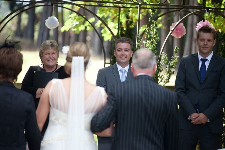 My blog -  Frith and Andrew, a delightful wedding, 14 February  2014. http://www.nzmarriages.co.nz/blog