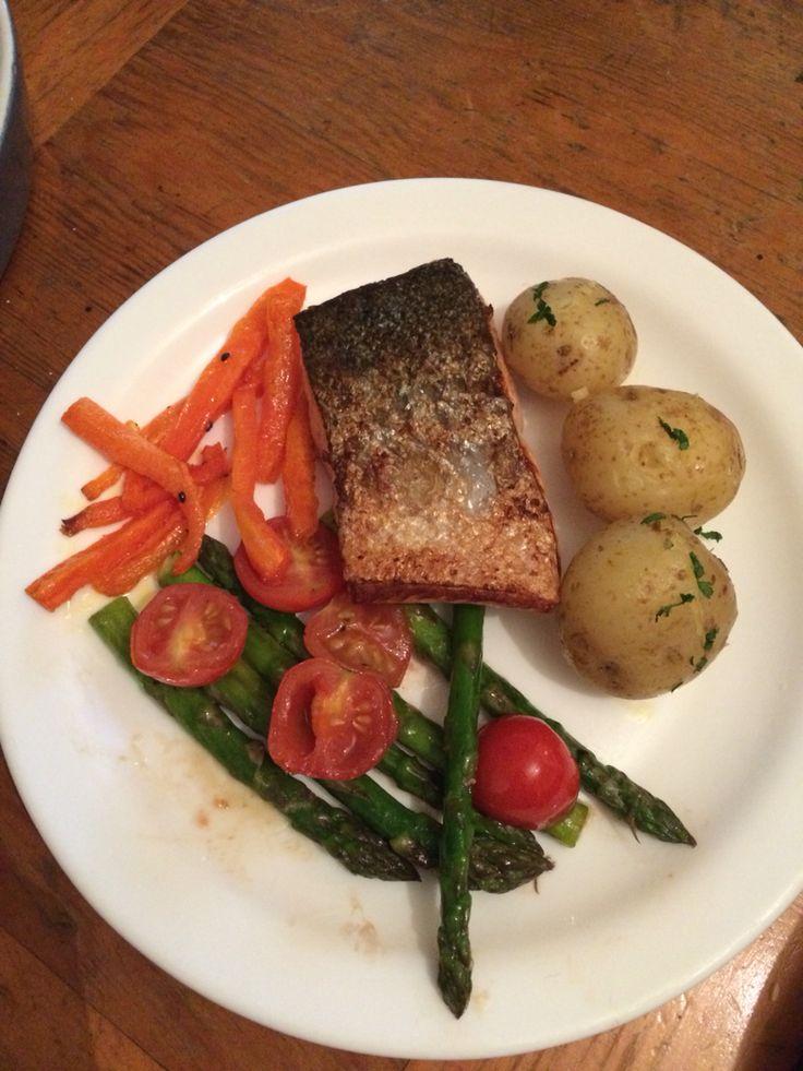 Salmon dinner idea