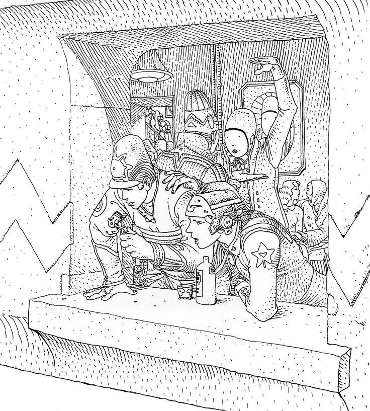Moebius - Europe Assistance (1981)