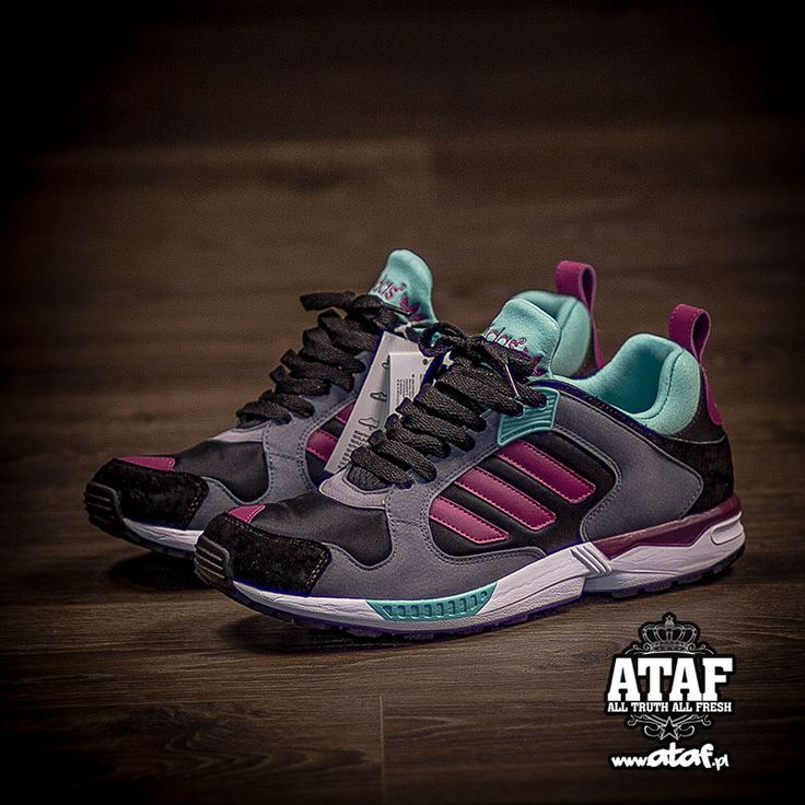 adidas Originals ZX 5000 RSPN: Burgundy/Green Glow