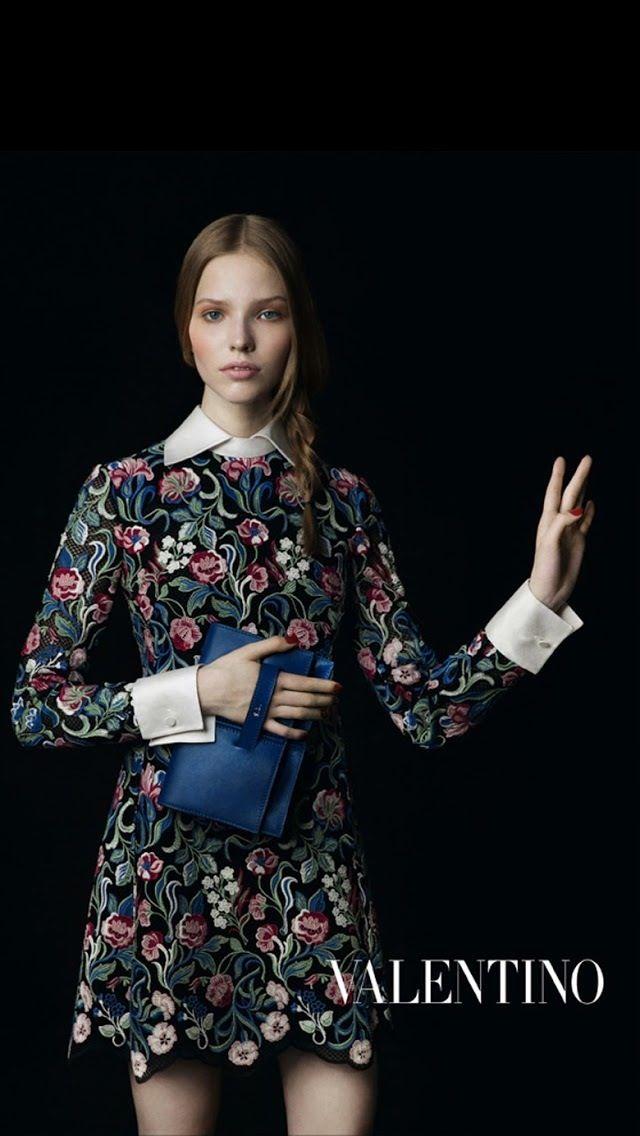 Valentino fashion campaign 2013